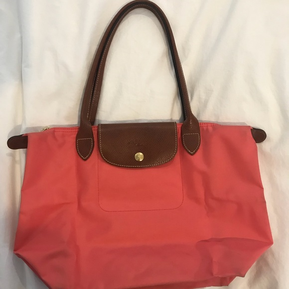 506f8ce767 Longchamp Handbags - Flower (color) Le Pliage Small Handbag